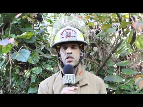 Fire Service Statement At Barn Fire Paget Bermuda January 27 2012
