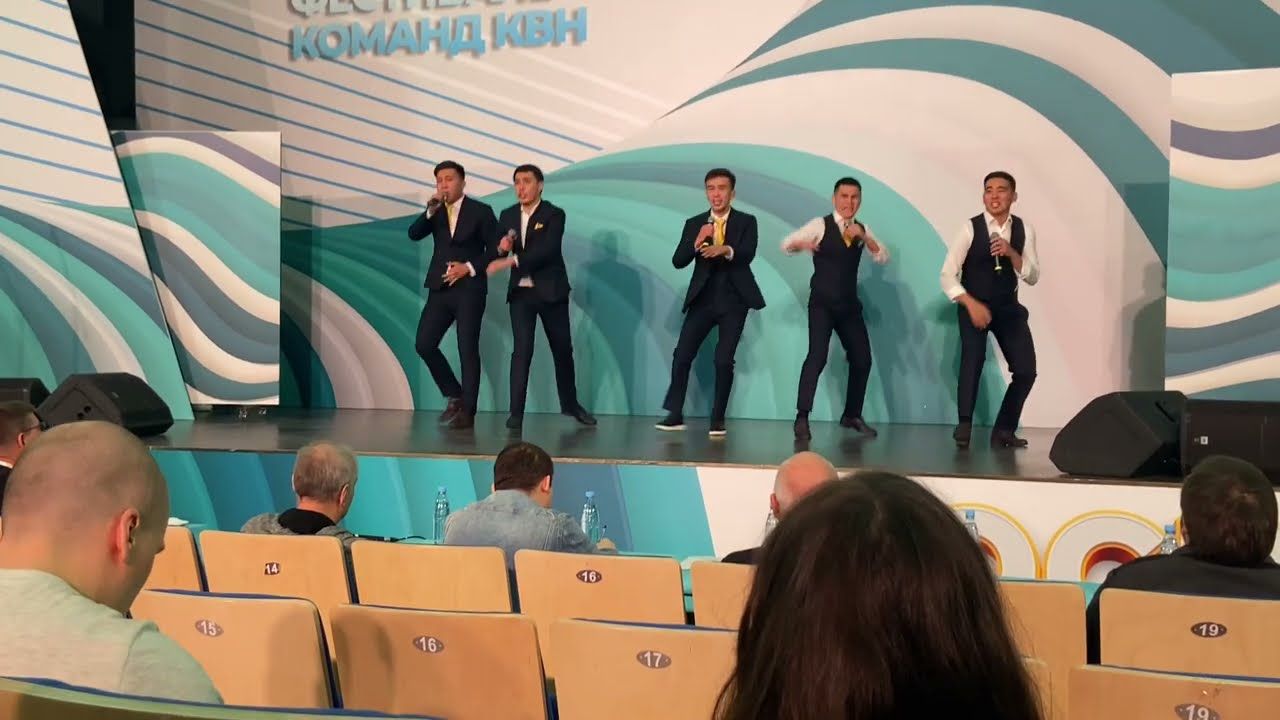 Команда КВН «Казах-Амир» (Бахтияр Тайлакбаев) / Фестиваль КИВИН 2021 в Сочи, 1-й тур.