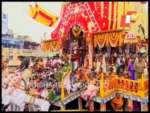 Lord Jagannath Ratha pulling to Gundicha Temple Live - Puri Rath Yatra 2017