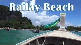 Krabi: Ao Nang to Railay Beach.