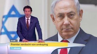 Israelische premier Netanyahu verdacht van omkoping