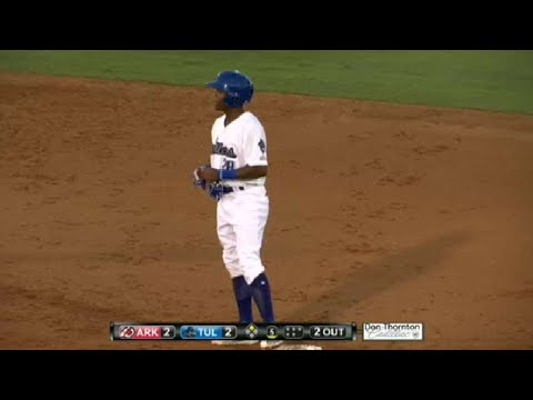 Robinson doubles in run for Drillers