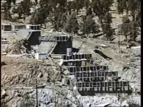 The Construction of Tulloch Dam and Power House