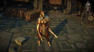 Path of Exile: Sphinx Armour Set