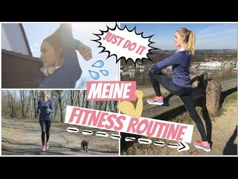 Meine aktuelle Fitness Routine 💪🏼💦