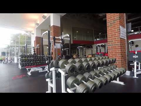 Simpson College Weight Room