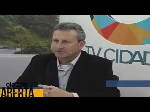 TV Cidade recebendo o Sindilojas e o Sindigeneros - 3