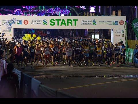 Standard Chartered Marathon Singapore 2015 still images and video mix