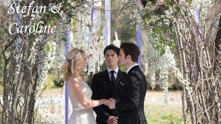 Stefan & Caroline Finally Wedding!!! Свадьба Стефана и Кэролайн