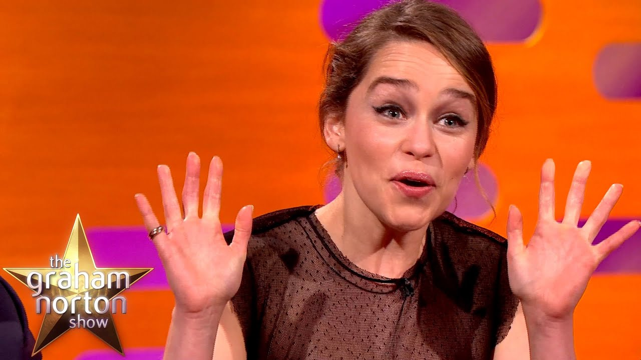 Emilia Clarke Watched Game Of Thrones Nude Scene With Her Parents  - The Graham Norton Show
