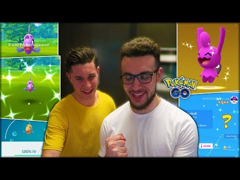 MY FIRST TIME HATCHING A SHINY POKÉMON! (Pokémon GO) thumbnail