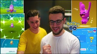 MY FIRST TIME HATCHING A SHINY POKÉMON! (Pokémon GO)