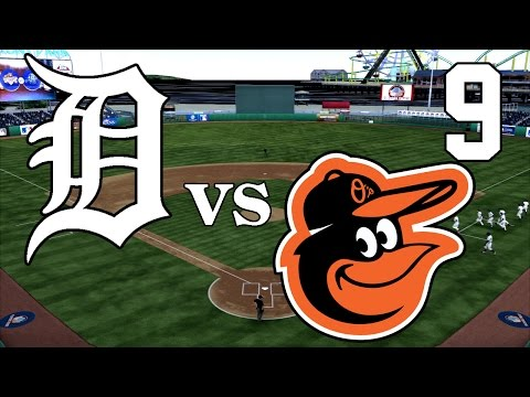 MLB The Show 14 - Detroit Tigers vs Baltimore Orioles - Part 9