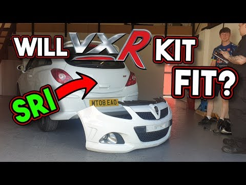 Will A Corsa VXR Kit Fit On A Normal Corsa