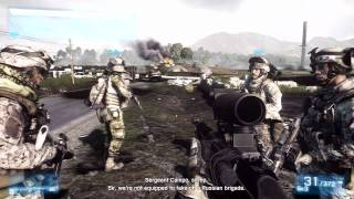 Battlefield 3: Walkthrough - Part 17 [Mission 10: Fast Air Jet Attack] (BF3 Gameplay) [360/PS3/PC]