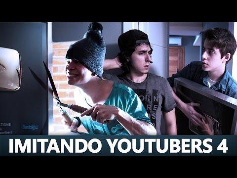 IMITANDO YOUTUBERS 4 - Cellbit e Aruan