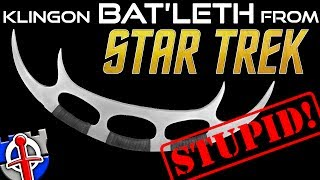Download Why the Klingon Bat'leth from Star Trek is STUPID! Mp3 and Videos
