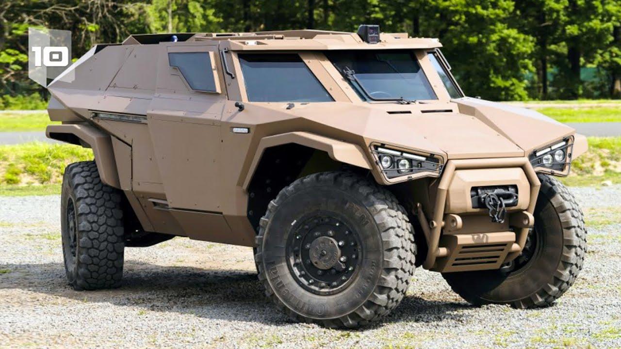 10 Veículos Blindados Militares mais Incríveis do Mundo. Parte 4