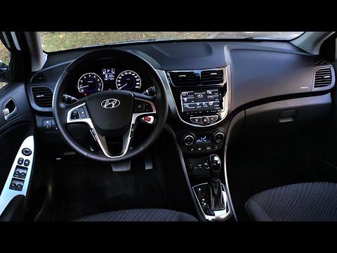 Изменения и косяки интерьера Хендай Солярис 2014 2015 Тест драйв Hyundai Solaris ч.8
