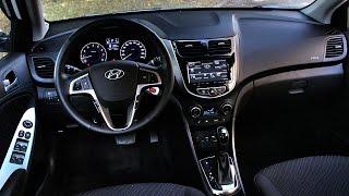 Изменения и косяки интерьера Хендай Солярис 2014 2015 Тест драйв Hyundai Solaris ч.8 смотреть