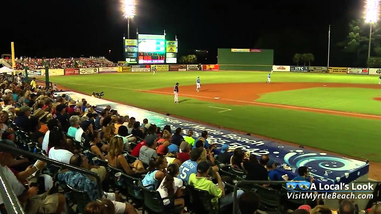 Myrtle Beach Pelicans Baseball A Local Favorite