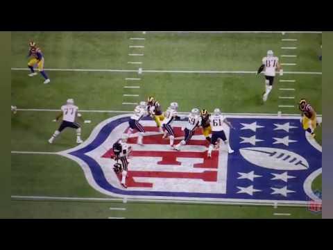 Trent Brown Destroys Rams Defense | Superbowl Highlights