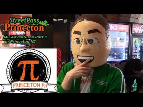 Mii Adventures in Princeton NJ Part 1 at Princeton Pi