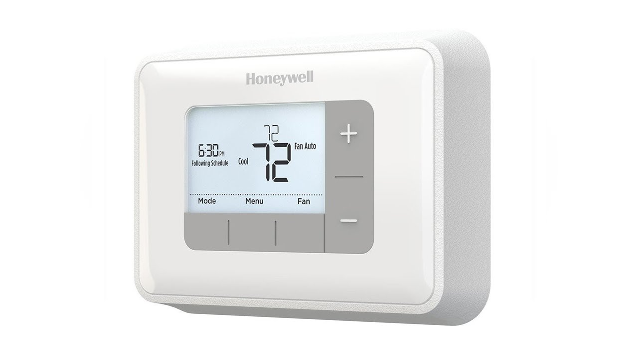 small resolution of honeywell 5 2 day programmable thermostat rth6360d