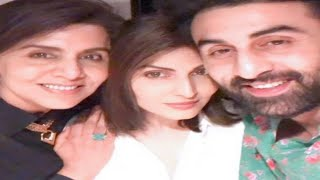 Ranbir Kapoor Celebrate MoM Neetu Kapoor Birthday With Sister Ridhima|Alia Bhatt