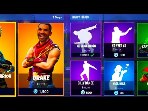 *NEW* DRAKE HOTLINE BLING HIDDEN EMOTE! - UNLOCK ALL SECRET EMOTES in Fortnite Battle Royale!