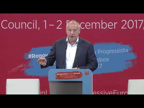 PES Coincil 2017 - Lisbon, closing speech by Sergei Stanishev