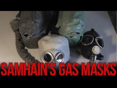 Обзор изолирующих противогазов ИП-4 и ИП-4М   Soviet IP-4 gas mask review