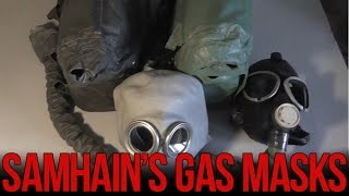 Обзор изолирующих противогазов ИП-4 и ИП-4М | Soviet IP-4 gas mask review(Обзор изолирующих противогазов ИП-4 и ИП-4М. Оба противогаза используются в промышленности и в вооруженных..., 2015-02-15T05:22:56.000Z)
