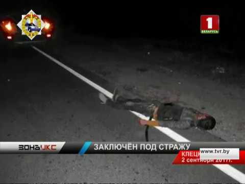 Водитель, который в Клецком районе сбил двух парней, заключен под стражу. Зона Х