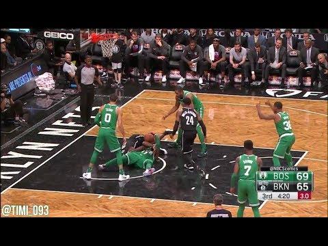 Boston Celtics Defensive Highlights vs Brooklyn Nets (11/14/2017)