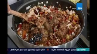 مطبخ تن | طاجن العكاوي بلسان العصفور والفاصوليا الحمرا - طحال محشي - لحمة الراس 2 سبتمبر