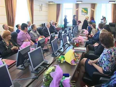 В администрации г. Владивостока сегодня чествовали медицинских работников