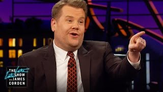 James Corden to Donald Trump: You