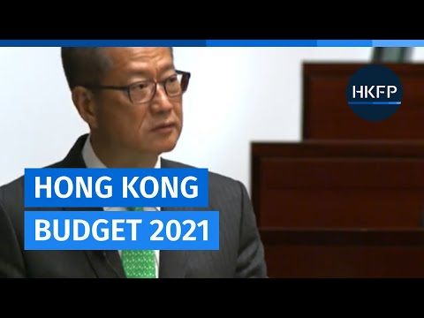 Finance chief Paul Chan delivers Hong Kong 2021 Budget