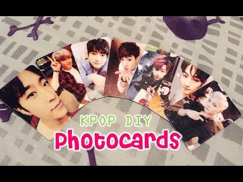 KPOP DIY Cómo hacer photocards