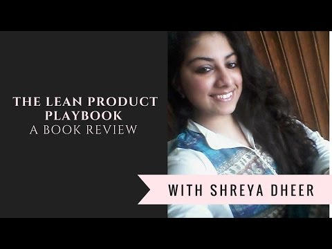 the-lean-product-playbook---a-book-review-with-ms.-shreya-dheer