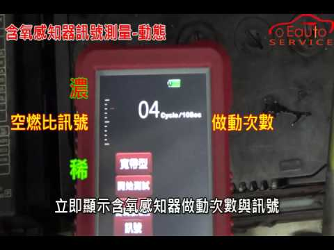 TS701 含氧感知器訊號測量 動態