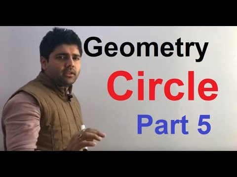 Geometry Part 34 Circle part - 5 By Abhinay Sharma (Abhinay Maths)