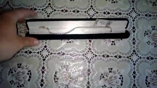 обзор серебреной цепочки