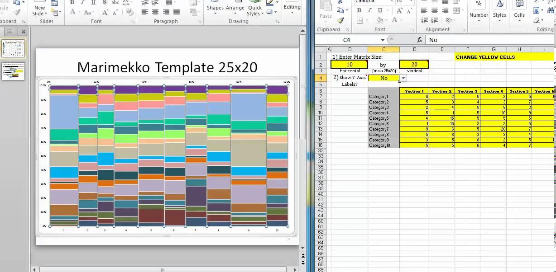 Exceltheory Com Marimekko Chart Template
