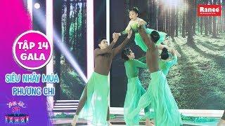 Biệt Tài Tí Hon 2|Tập 14: Trịnh Thăng Bình ngẩn ngơ với màn nhảy jazz kết hợp múa đương đại cực đỉnh