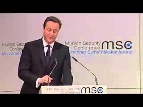 David Cameron's Munich Speech on Multiculturalism