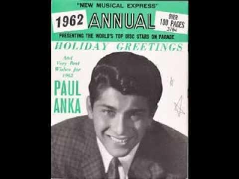 """Paul Anka – """"It's Christmas Everywhere"""" (ABC) 1960"""