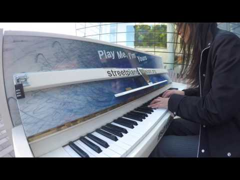 """Rainbow Connection @ Prudential Center, """"Play Me, I'm Yours"""": Boston Street Piano"""