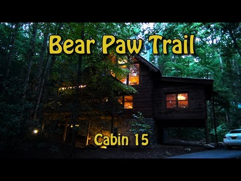 Bear Paw Trail Cabin At Brother's Cove In Pigeon Forge, TN